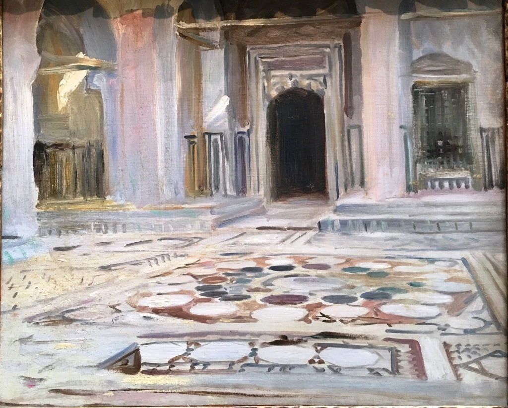 Sargent - Pavement, Cairo, 1891