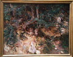 Sargent - Thistles and Herbage on a Hillside
