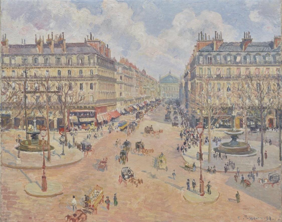 Camille Pissarro – Haussmann's Gift toParis